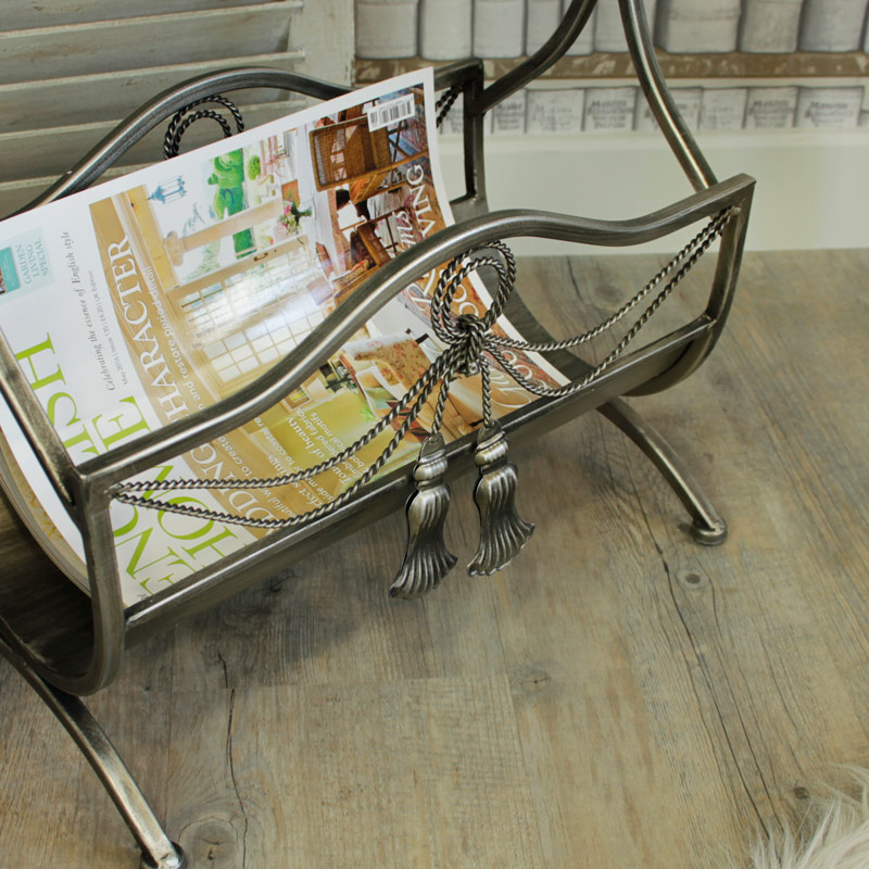 Ornate Magazine Rack