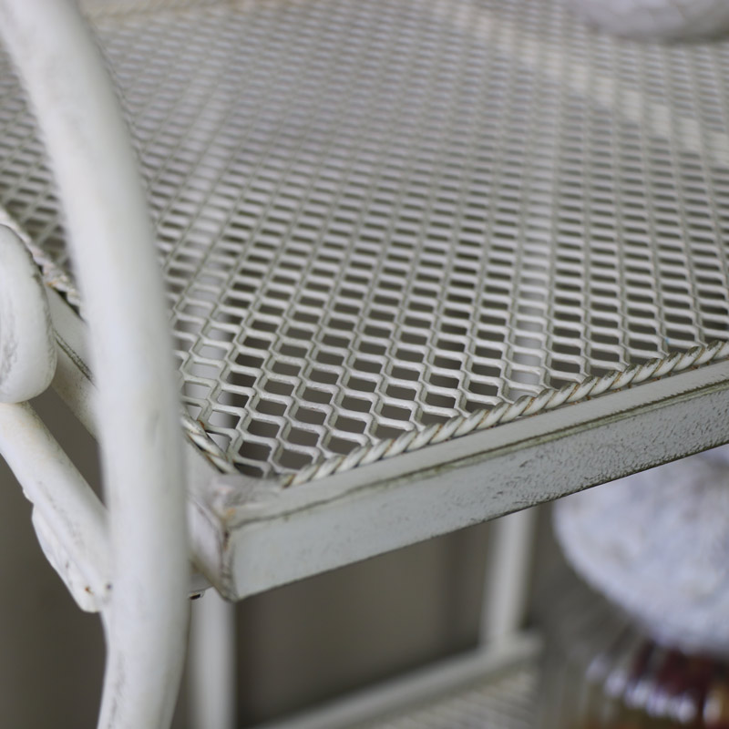 Antique White Kitchen Cart