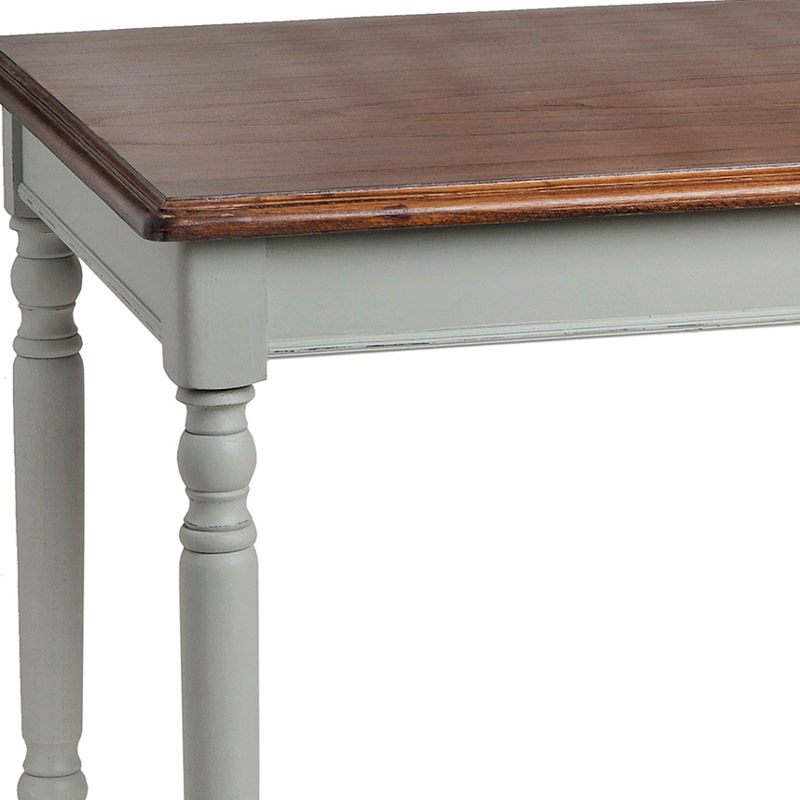 Portsmouth Range Grey Wooden Square Dining Table Melody Maison