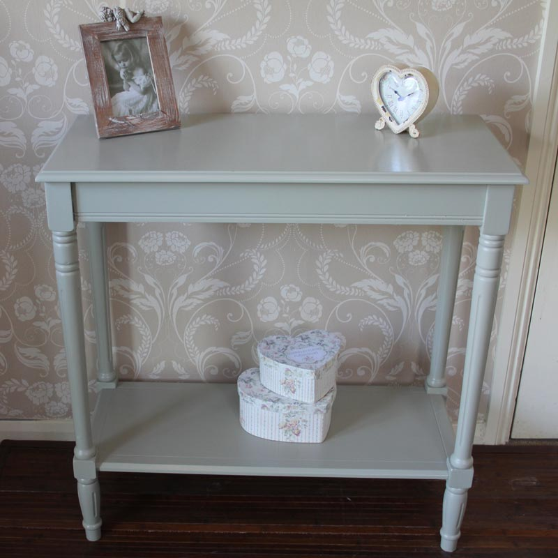 Sage Green Console Table