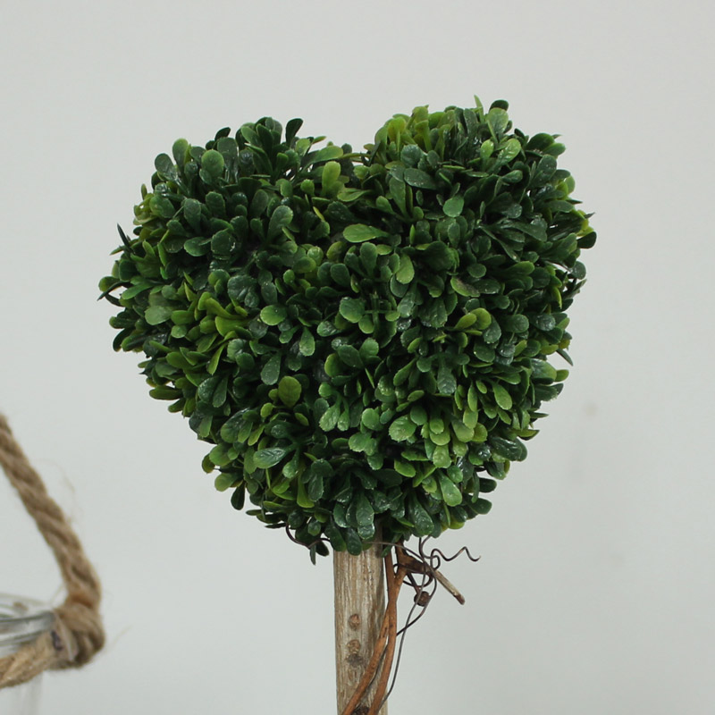 Small Decorative Heart Topiary Tree