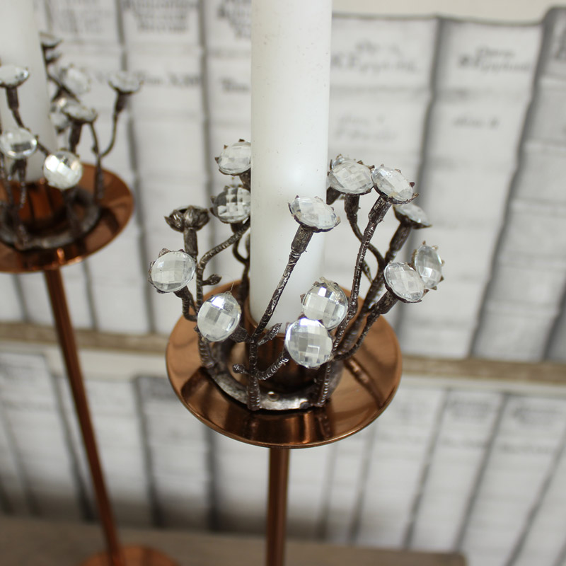 Small Jewelled Candle Ring