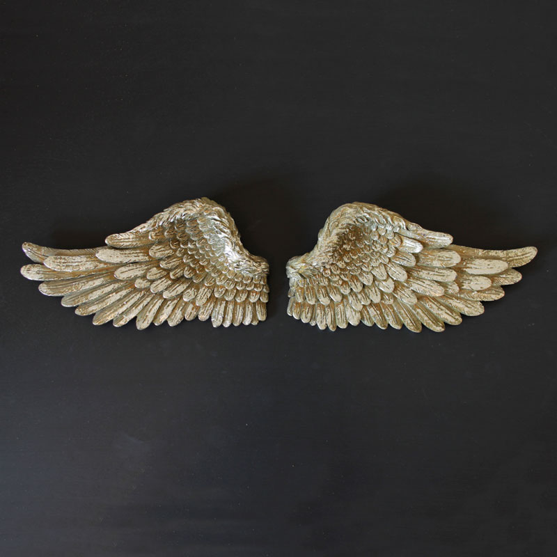 Small Silver Angel Wings