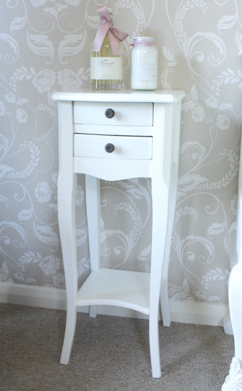 Buat testing doang very narrow bedside table small spaces - Bedside tables small spaces decor ...
