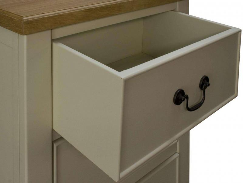 Spring Cottage Cream - Tallboy Chest of Drawers