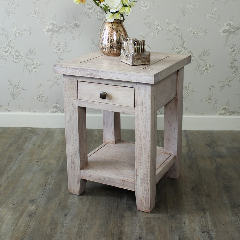 Studley Range - 1 Drawer Lamp/Bedside Table