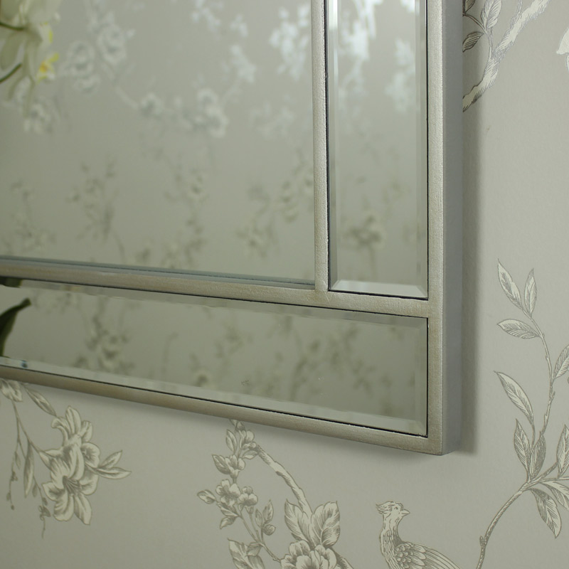 The Angelina Range - Mirrored Wall Mirror