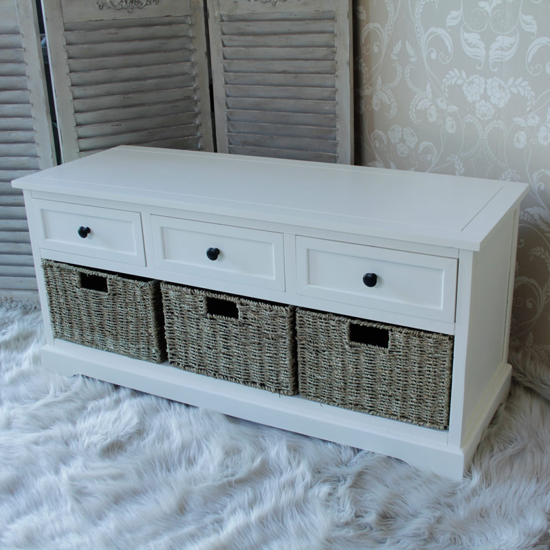 Three Drawer Three Basket Unit