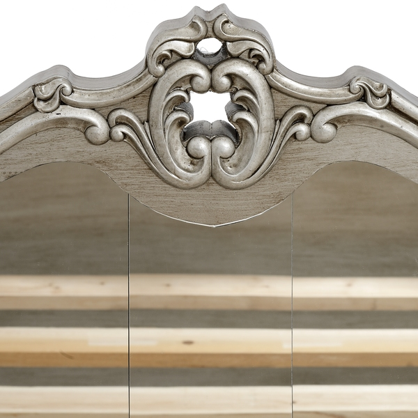 King Size Mirrored Bed - Tiffany Range