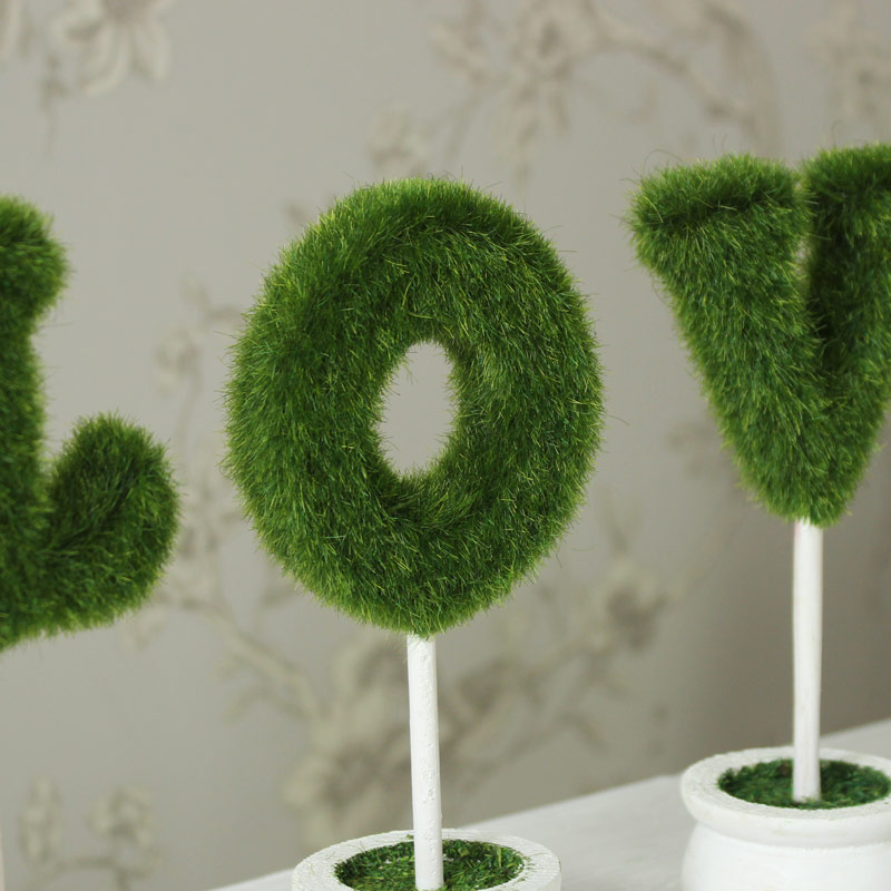 Topiary 'LOVE' Ornamental Tree Pots