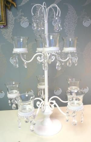 Chandelier shades - Chandeliers with string chades - Chandelier