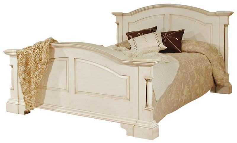 Canterbury Range - Cream Wooden Kingsize Bed