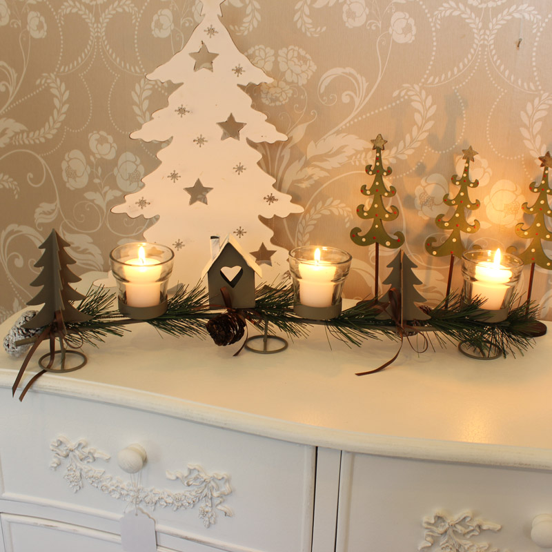 Christmas Tealight Candle Holder