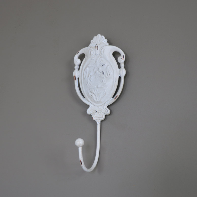 Cream Ornate Wall Hook