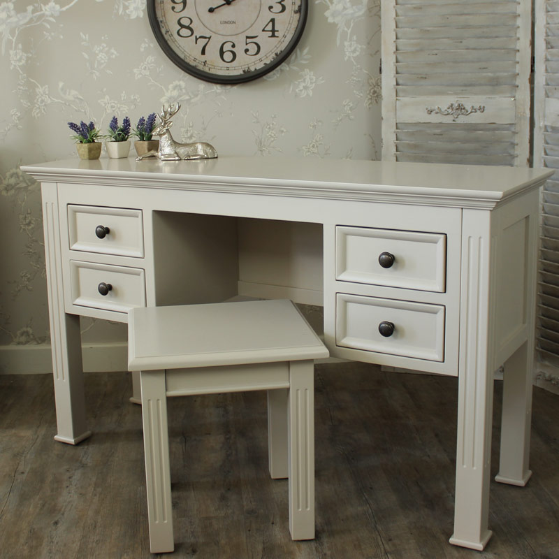 Daventry Range - Grey Dressing Table and Stool