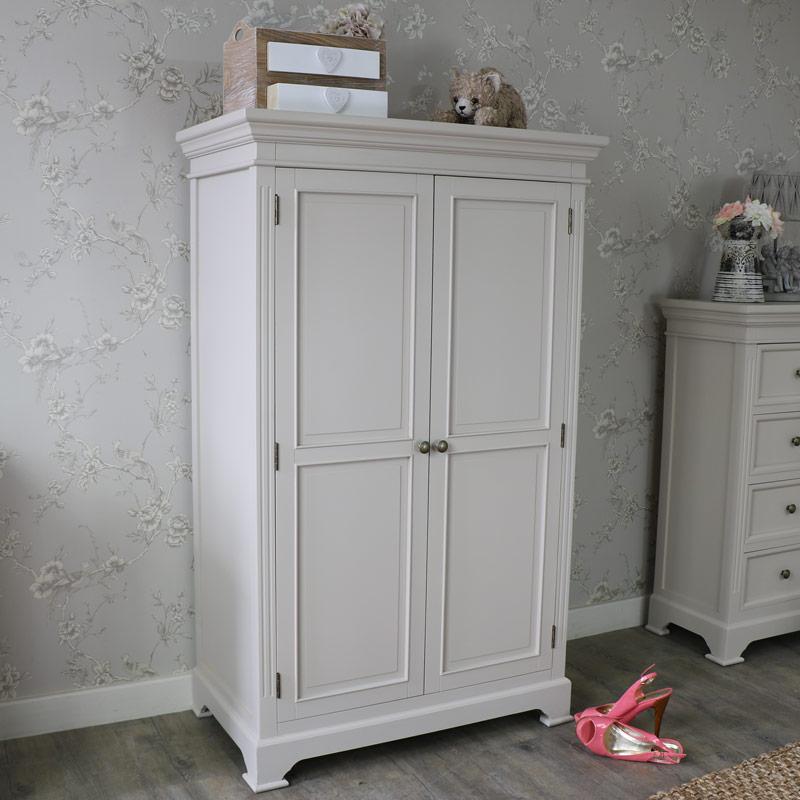Linen Closet/Low Wardrobe - Daventry Grey Range