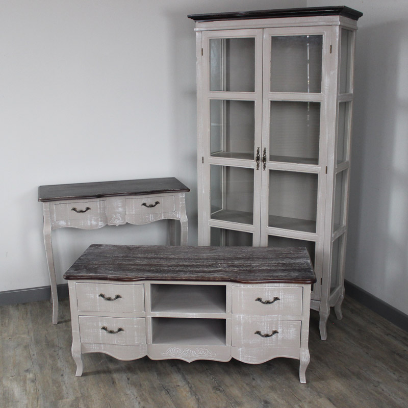 Furniture Bundle, Tv Cabinet, Display Cabinet And Console Table