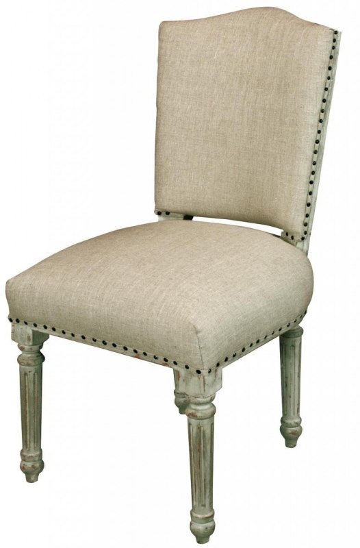 French Padded Bedroom Or Dining Chair Melody Maison
