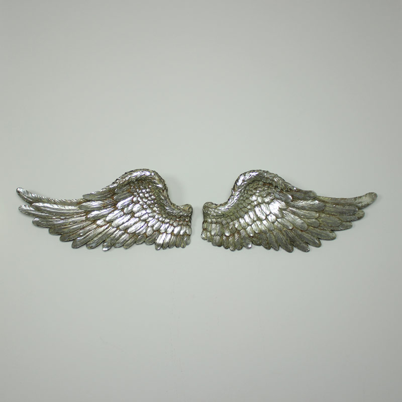 Large Silver Angel Wings Melody Maison 174