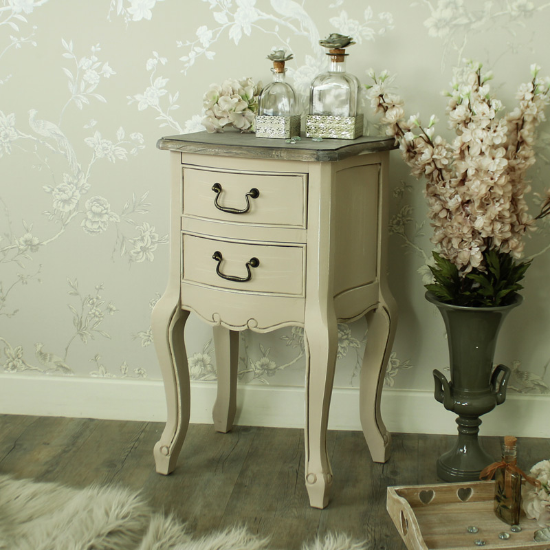 Louisiana Range - 2 Drawer Bedside Table