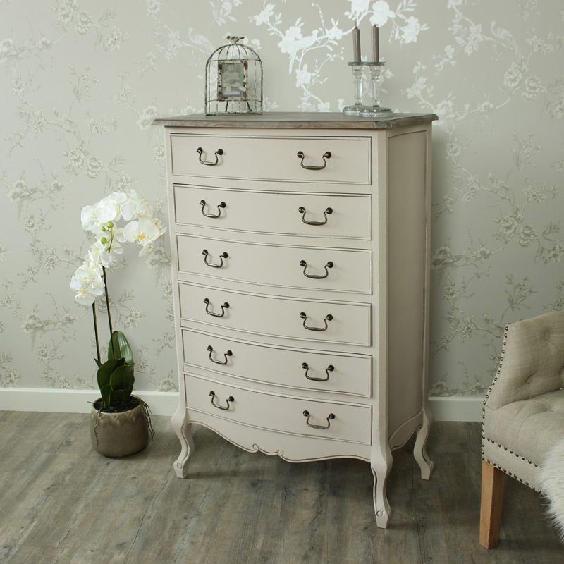 Louisiana Range - 6 Drawer Tall Chest