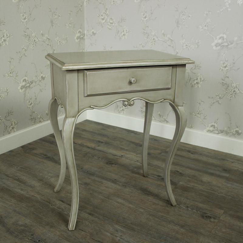 Paris Range - Ornate 1 Drawer Bedside
