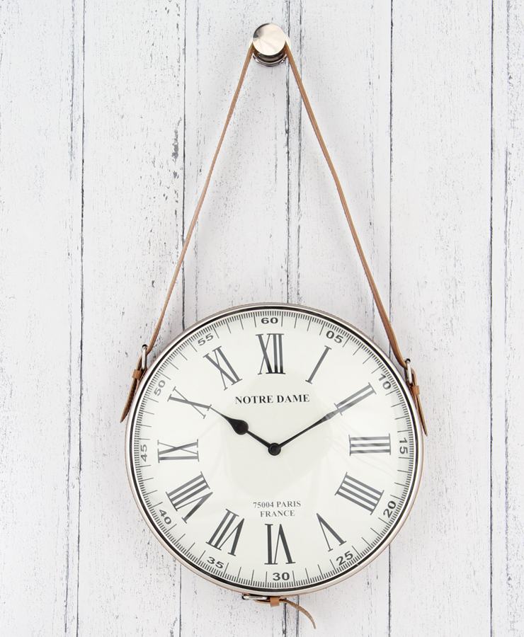 Vintage Style Hanging Wall Clock