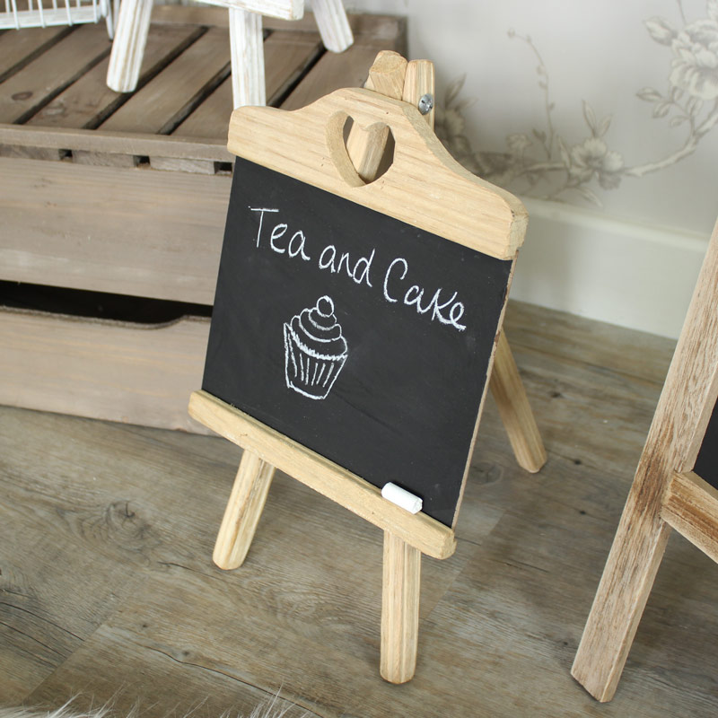 Wooden Chalkboard on Stand