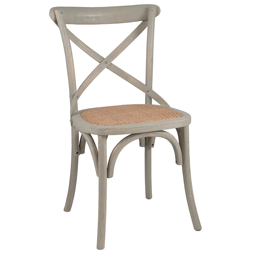 Wooden / Rattan Dining Chair