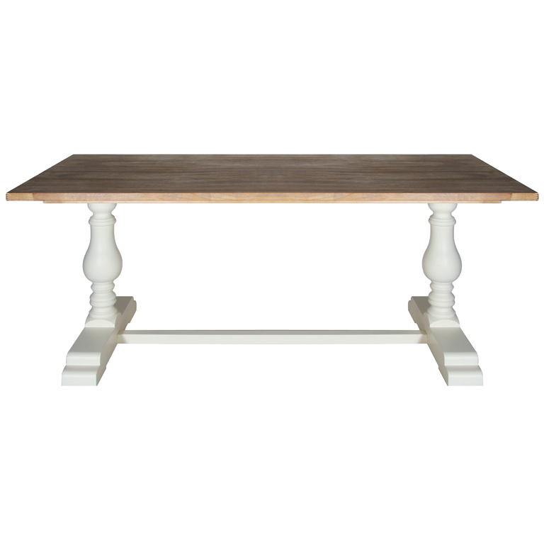 Heritage Range - Antique White Dining Table
