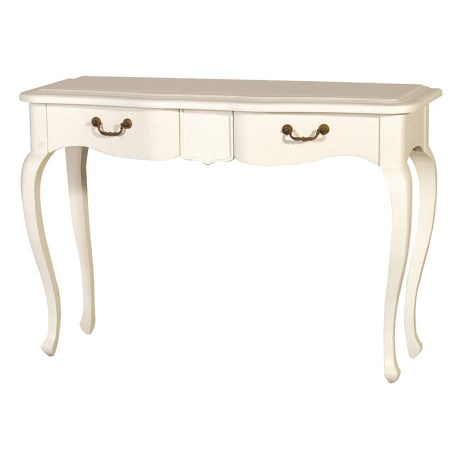 London Range - Cream 2 Drawer Console Table