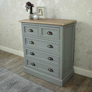 Five Drawer Chest - Admiral Range
