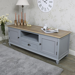 Wooden TV Cabinet Unit - Admiral Range