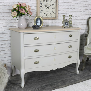 Three Drawer Chest of Drawers - Albi Range