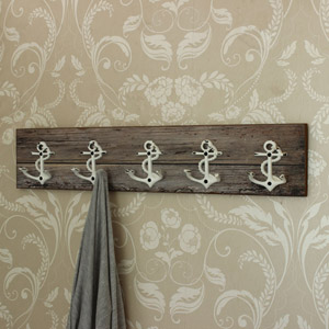 Anchor Wall Hooks Rail