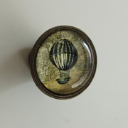 Antique Style Hot Air Balloon Drawer/Door Knob