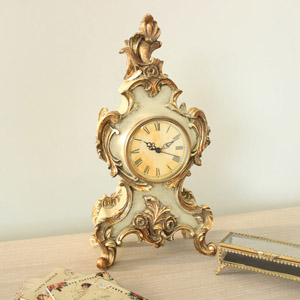 Antique Style Ornate Mantel Clock