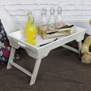 Wooden Folding Bed/Lap Tray
