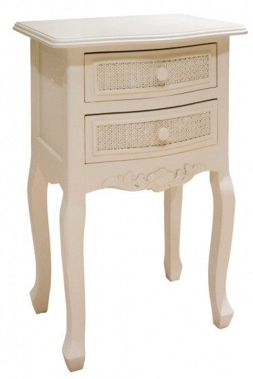 Kensington Range - Cream Bedside Table