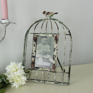 Birdcage Photo Frame