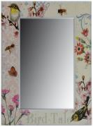 Birds and the Bees Wall mirror