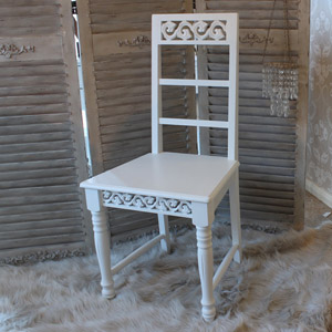 Blanche Range - White Dining Chair