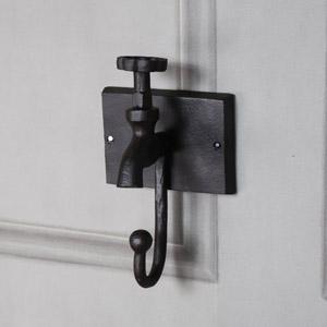 Rustic Metal Tap Wall Hook