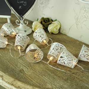 Butterfly Lantern Fairy Lights