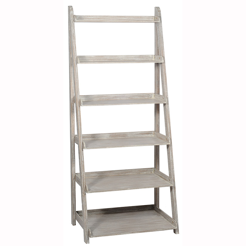 Cambridge Range - Grey 6 Tier Bookcase