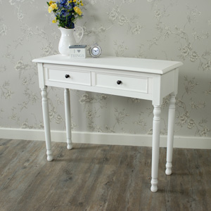 White Console Table - Camille Range