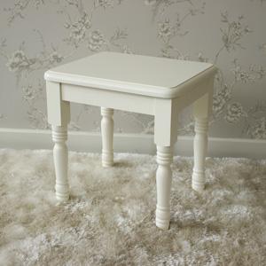 Canterbury Range - Cream Dressing Table Stool