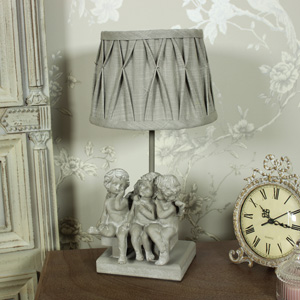 Cherub Triplet Table Lamp