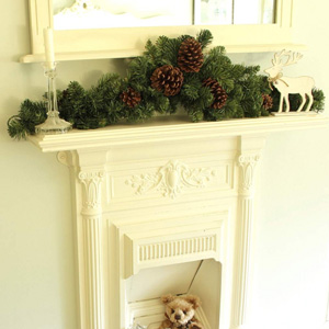 Christmas 3ft Pine Cone Garland