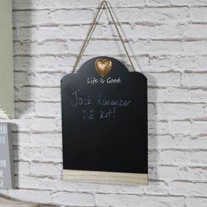 Copper Heart Chalk Board